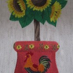Sunflower Rooster